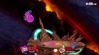 Inkling is just boneless Diddy Kong. I'm reminded of that every tim...