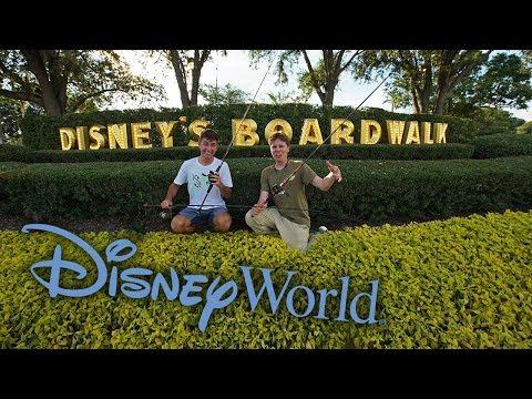 Fishing In Disney World! (Big Fish)