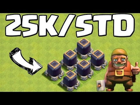 25K DUNKLES ELIXIER PRO STUNDE! || CLASH OF CLANS || Let's Play CoC [Android iOS]