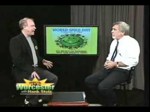 Charlie Ball on Wake Up Worcester TV discussing World Smile Day®