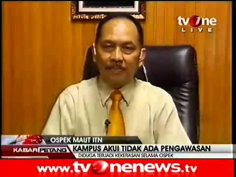 Pengakuan Rektor ITN Malang Tentang Ospek Maut di Kampusnya