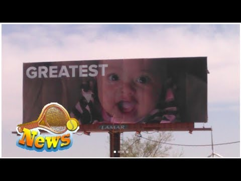 4 billboards for serena williams cropped up outside of palm springs and they might make you emotion