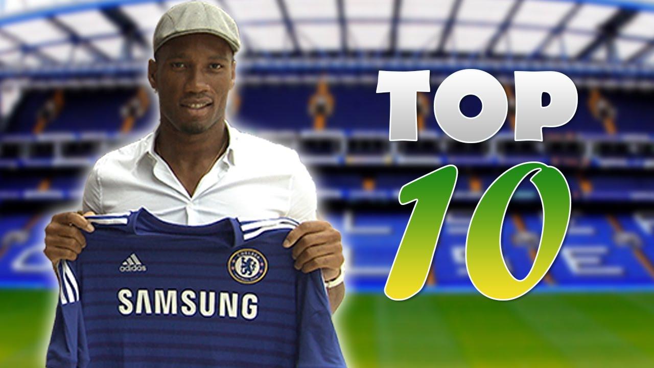Top 10 Les Plus Gros Transferts De Footballeurs Africains Youtube