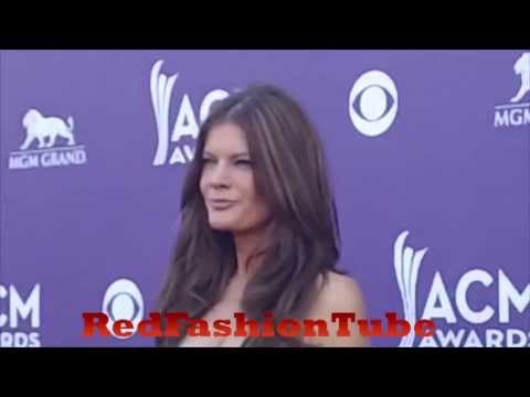 Michelle Stafford arrives at the 48th Annual Academy of Country Music Awards