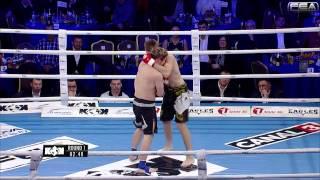 Capmari Dmitri vs Mindaugas Verzbickas. Super fight weight -77kg. MMA Rules.
