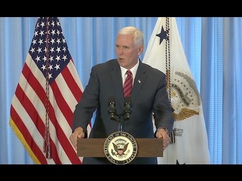 Thumbnail: VP Pence Speaks To Troops In Hawaii - Full Event