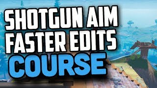 Best Fortnite Warm-Up Course (Improve Shotgun Aim, Edit Faster, and Build Faster)
