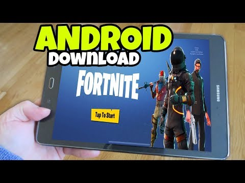 How to download Fortnite MOBILE on ANDROID Phones and Tablets (Fortnite Mobile) Mp3