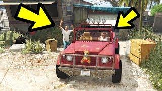What Happens if Franklin takes Trevor's Car?