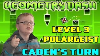 Geometry Dash : Gameplay Part 2 Level 3 - Polargeist (Caden