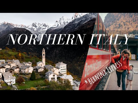 This airbnb was CRAZY | Exploring the Swiss Alps & Bernina Express