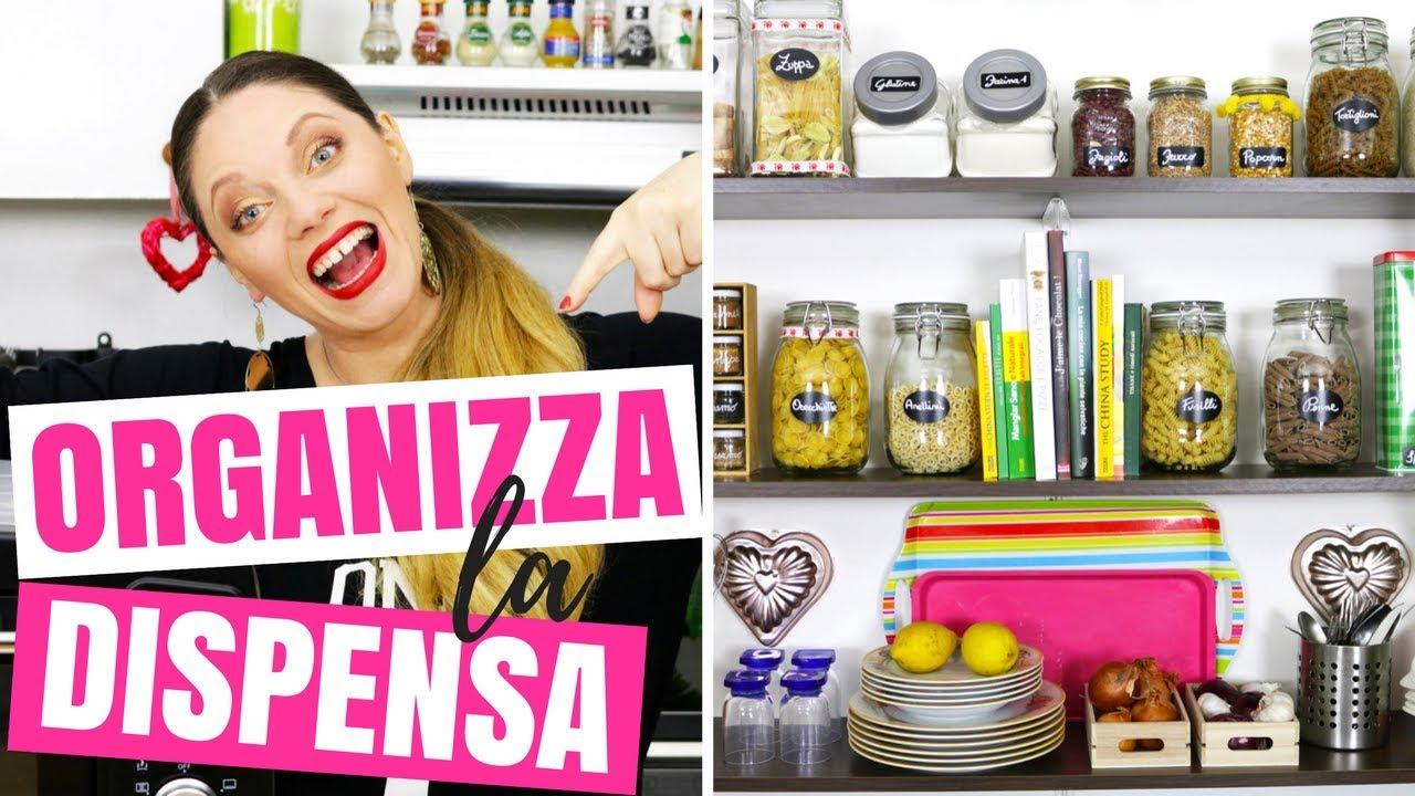 Organizzare La Credenza : Idee per organizzare la dispensa in cucina come
