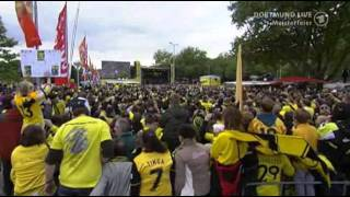 """BVB Meisterfeier 2011 - """"Mannschaftsaufstellung"""""""