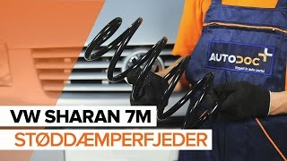 Skift Spiralfjedre VW SHARAN (7M8, 7M9, 7M6) - online gratis video