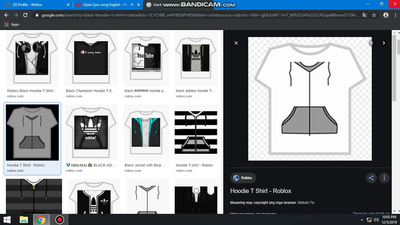 How To Make A T Shirt In Roblox 2019 December 5 2019 Youtube
