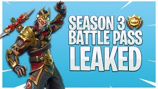 PEAU DE ROI DE SINGE LÉGENDAIRE DE 'NOUVEAU' ! BATTLE PASS SEASON 3 LEAKED?! dans Fortnite: Battle Royale