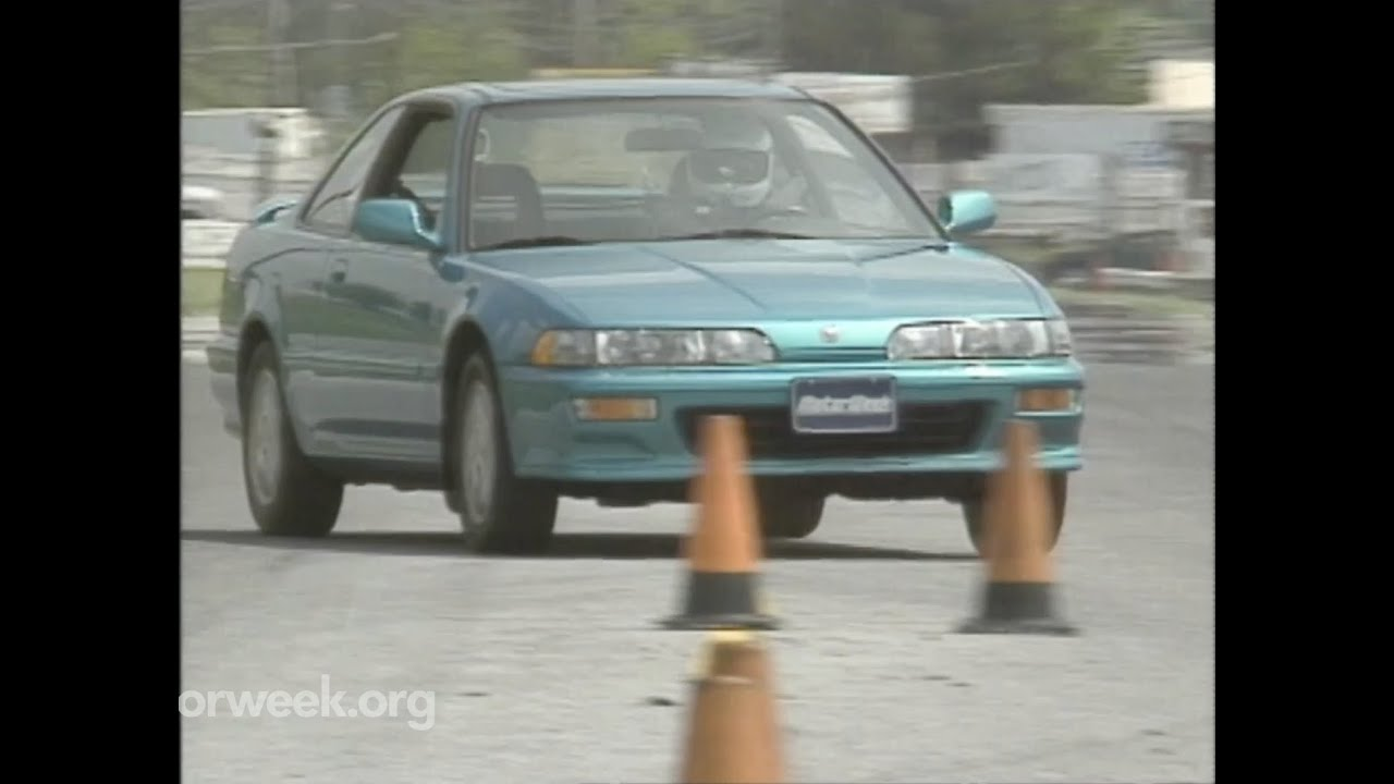 Motorweek Retro Review 92 Acura Integra Gs R Youtube