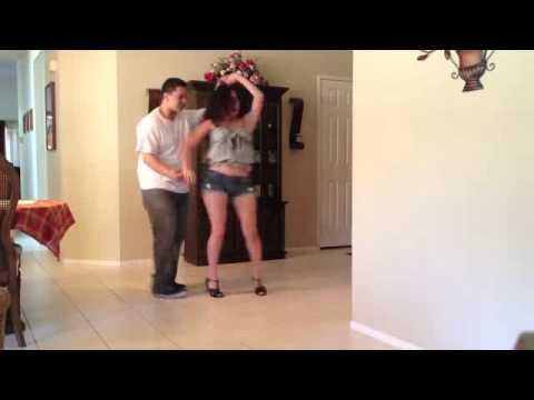 bailando Bachata  Darte Un Beso  Prince Royce