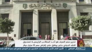 المركزي المصري يعلن تحرير سعر صرف الجنيه