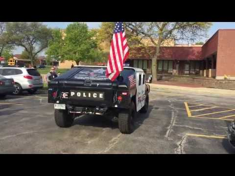 SLOANE'S SPECIAL DAY- ROLLING MEADOWS POLICE