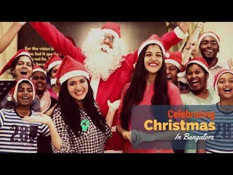 Celebrate Christmas in Bangalore | Christmas Music, Decor, Cakes - Merry Christmas