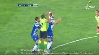 #بطولة_إتصالات_المغرب|د.19| إتحاد طنجة 0-1 الدفاع الحسني الجديدي هدف سايمون مسوڤا في الدقيقة 02.