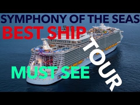 Symphony of the Seas - Full Walkthrough - Cruise Ship Tour - Royal Caribbean Cruise Lines  - 4K