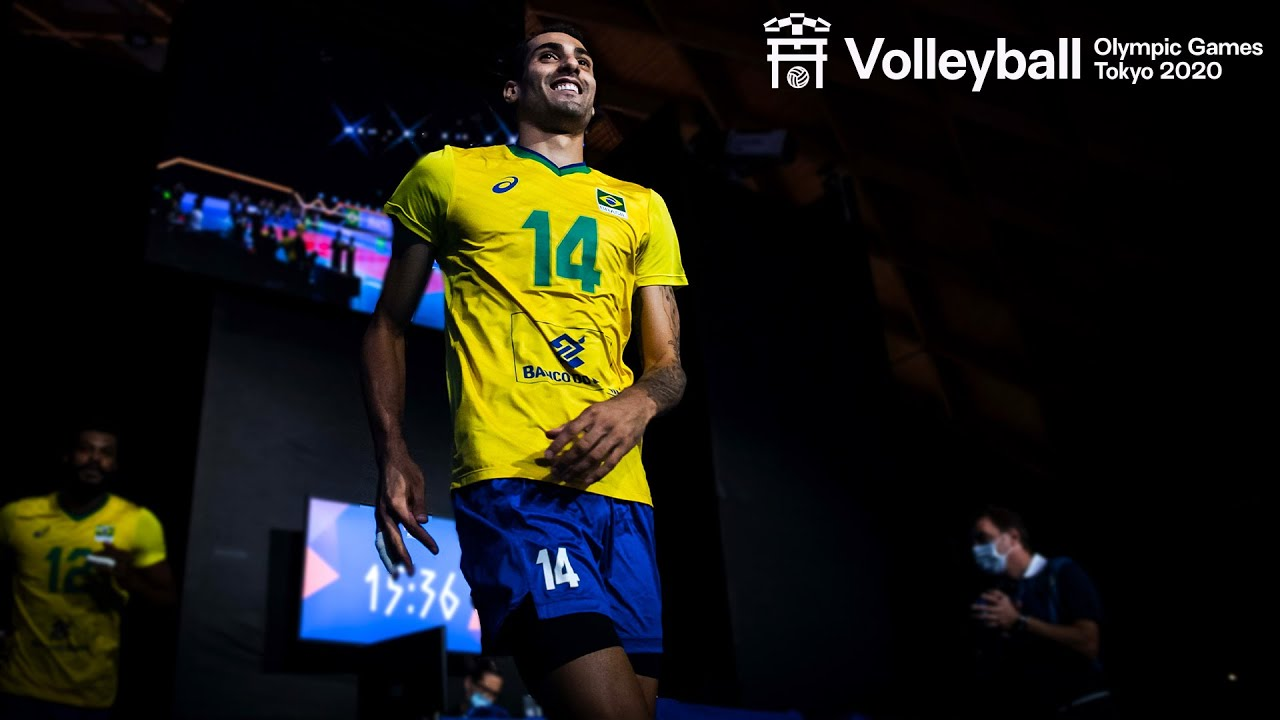 Douglas Souza 🇧🇷 always DANGEROUS at the net!   Volleyball World