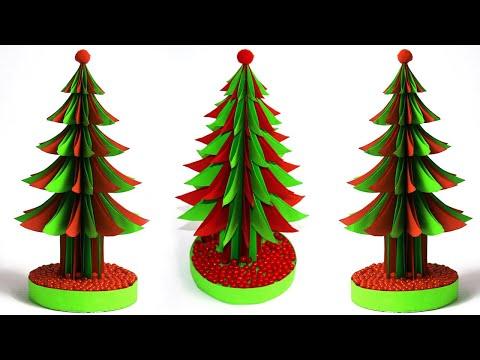 DIY christmas tree with paper /Christmas tree making / Christmas Decorations tree