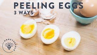 Never Mess Up Peeling Eggs Again - Honeysuckle
