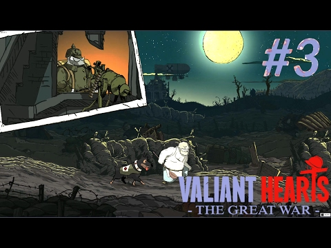 Valiant Hearts The Great War 3 στα χαρακώματα Greek
