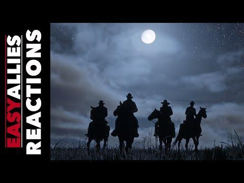 Red Dead Redemption II Trailer - Brandon Jones Reactions