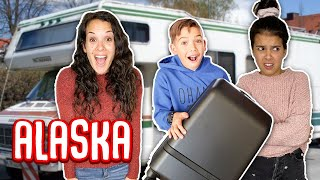 We MOVED to ALASKA! living in an RV with 6 kids!!