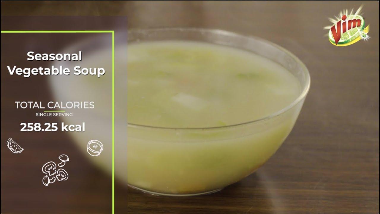 Seasonal Vegetable Soup | Episode 11 | Vim Healthy Recipes