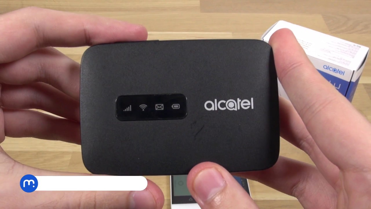 Alcatel LINK ZONE - LTE Wi-Fi router na cesty