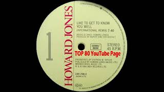 Cover images Howard Jones - Like To Get To Know You Well (International Remix)