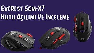 Everest SGM-X7 - Kutu Açılımı - İnceleme
