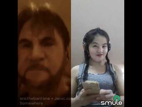 Somewhere duet by OFW here in Kuwait (practice on karaoke smule )from Davao City Philippines.