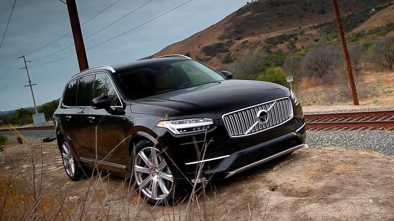 2017 volvo xc90 review and road test youtube. Black Bedroom Furniture Sets. Home Design Ideas