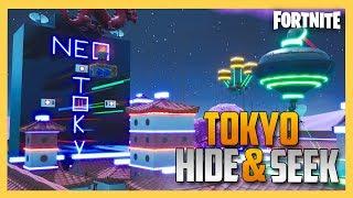 Fortnite Hide and Seek in TOKYO!   Swiftor