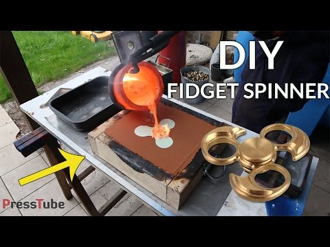 DIY Fidget Spinner From Bullet Shells
