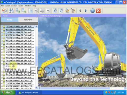 Hyundai Heavy Equipment Parts Catalog