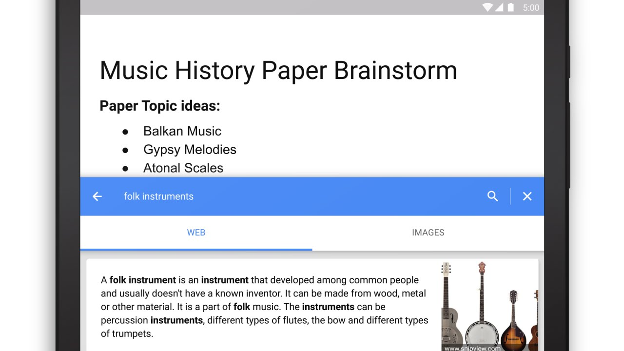 Google Docs now lets you type with your voice