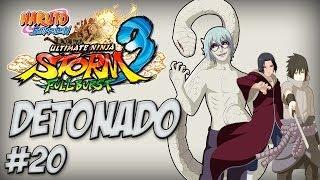 Naruto Ninja Storm 3, Detonado #20, DLC Full Burst, Boss Battle Itachi e Sasuke VS Kabuto - Nillo21