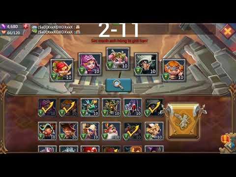Sàn đấu anh hùng (vòng thử thách 2-11)- lord mobile