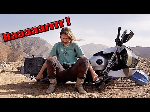 FINALLY !  How I learnt how to Pick up my KLR- My way !