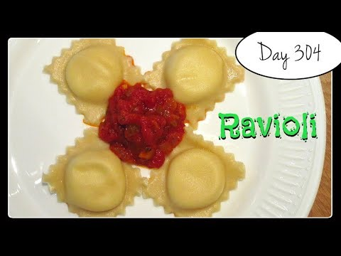Ravioli with Ricotta Filling Recipe by Laura Vitale [Food Challenge: DAY 304]