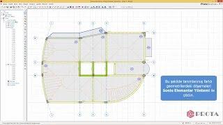 ProtaStructure ile Modelleme - Konsol Döşemelerin Tanımlanması