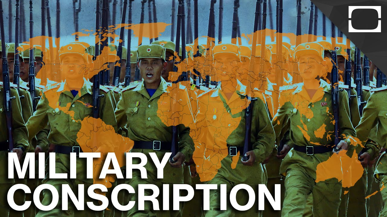"should military conscription be mandatory ""should a year of [mandatory national service and conscription] national service, both civilian and military, can embody."