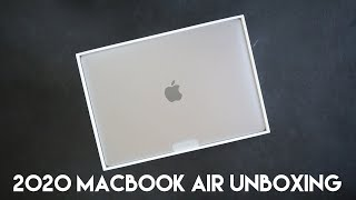 "Unboxing the 2020 13"" MacBook Air in Space Gray"